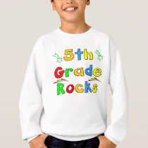 5th Grade Rocks Sweatshirt