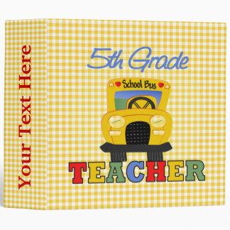 5th Grade Teacher Gift Binder