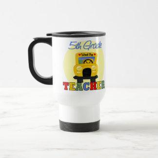 5th Grade Teacher Gift 15 Oz Stainless Steel Travel Mug