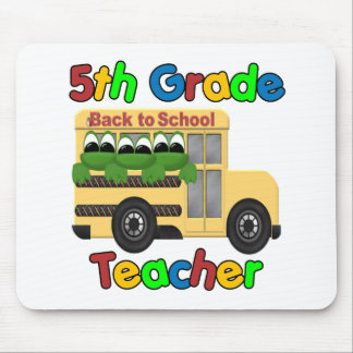 5th Grade Teacher Mouse Pad