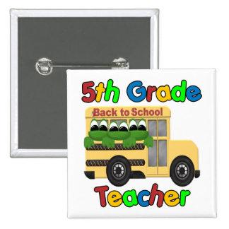 5th Grade Teacher Pins