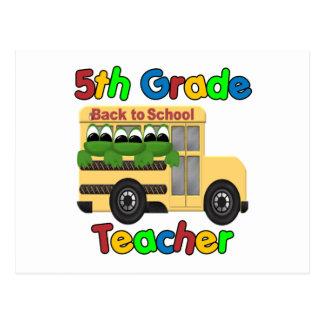 5th Grade Teacher Postcard