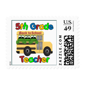 5th Grade Teacher Stamps