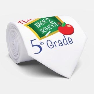 5th Grade Teacher Tie