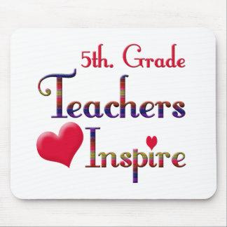 5th. Grade Teachers Inspire Mouse Pad