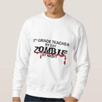 5th Grade Zombie Sweatshirt