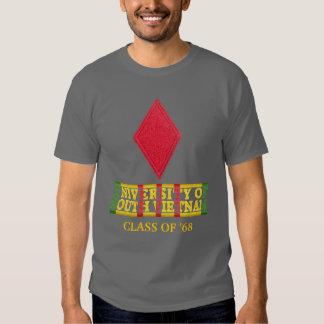 5th Inf Div University of South Vietnam Shirt