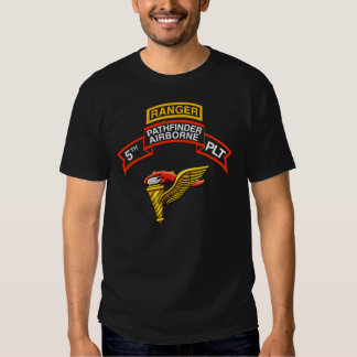 5th INF Platoon (Pathfinder) PT shirt with tab