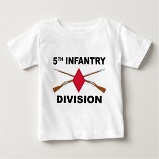 5th Infantry Division - Crossed Rifles T-shirt