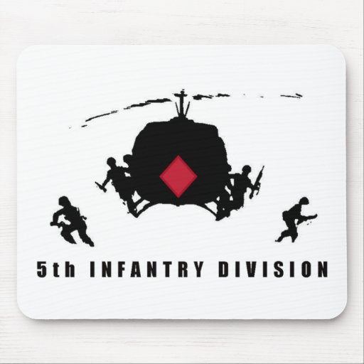 5th INFANTRY DIVISION Mouse Pad