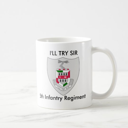 5th Infantry Regiment Mug