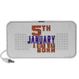5th January a star was born Speaker System