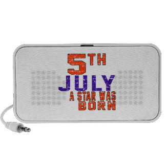 5th July a star was born iPhone Speaker