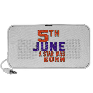 5th June a star was born Mp3 Speakers