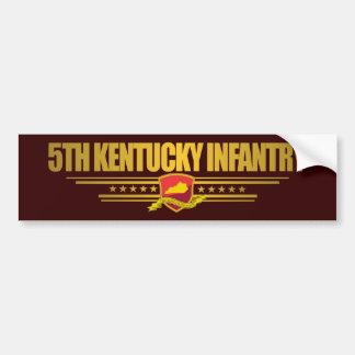 5th Kentucky Infantry Bumper Sticker