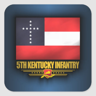 5th Kentucky Infantry Square Sticker