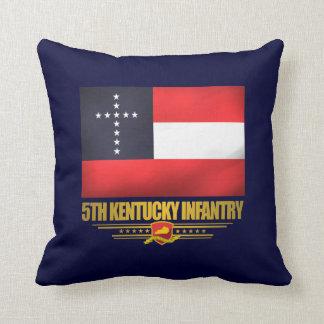5th Kentucky Infantry Throw Pillow