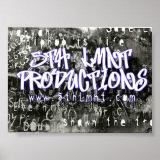 5th Lmnt Graffitti Posters