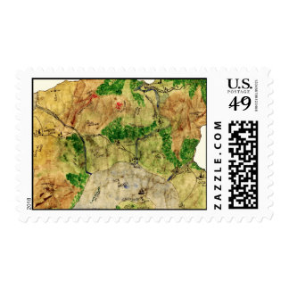 5th Map of the Forgotten Realm Postage