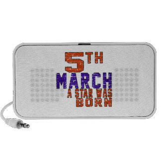 5th March a star was born PC Speakers