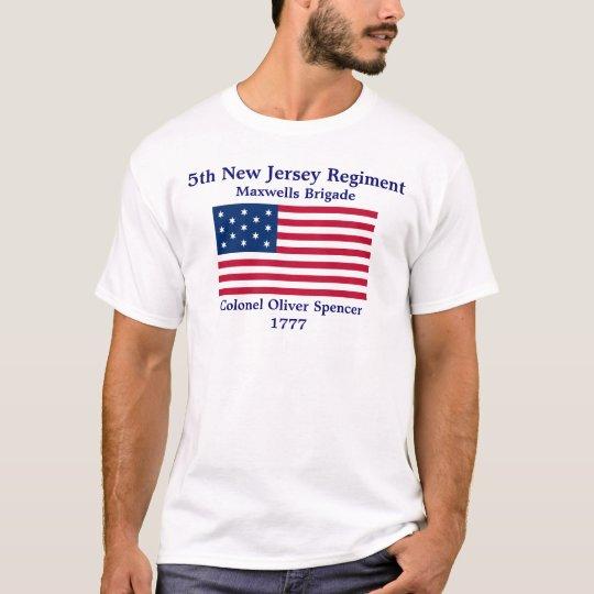 5th New Jersey Regiment T-Shirt