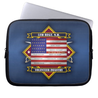 5th Regiment New Hampshire Volunteers Laptop Sleeve