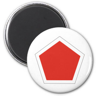 5th Regimental Combat Team 2 Inch Round Magnet