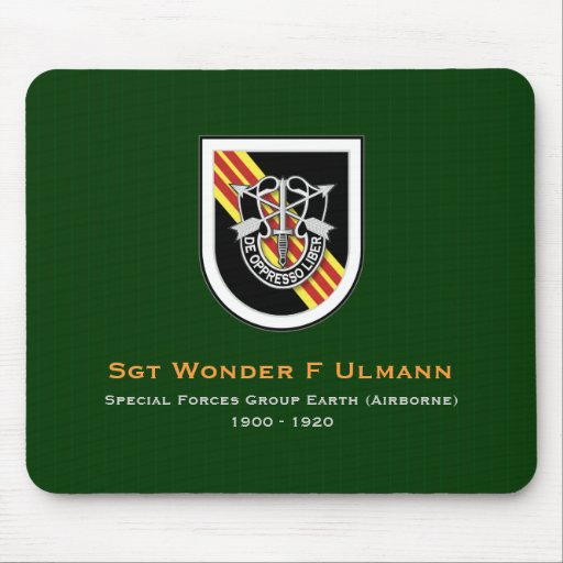 5th SFG-A 3 VN Mouse Pad