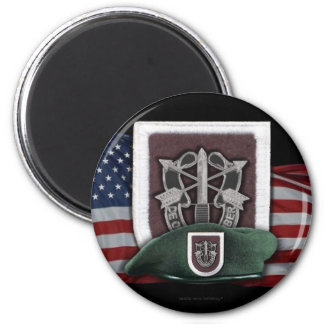 5th special forces flash Fort Campbell  magnet