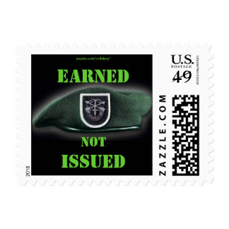 5th Special Forces flash Green Berets vet Postage
