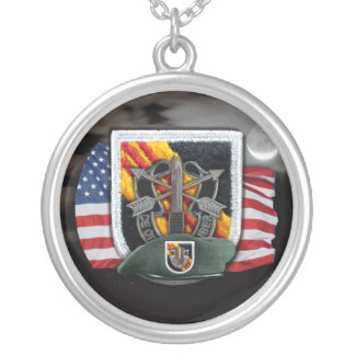 5th Special Forces flash vietnam vets Necklace