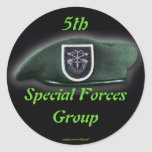 5th Special forces fort campbell veterans Sticker