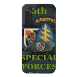 5th special forces green beret vietnam i case for iPhone 5/5S