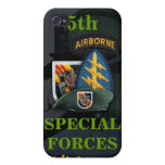 5th special forces green beret vietnam i iPhone 4 cases