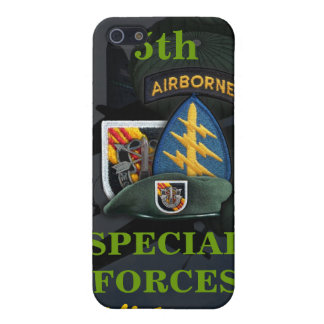 5th special forces green beret vietnam i case for iPhone 5