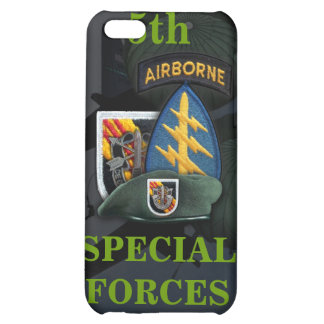 5th special forces green beret vietnam i cover for iPhone 5C