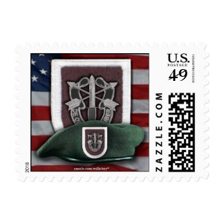 5th Special Forces Green Berets fort campbell vets Postage