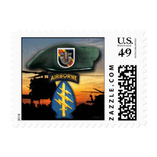5th Special Forces Green Berets nam Postage
