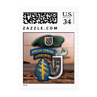 5th Special Forces Green Berets nam Postage Stamps