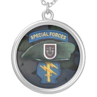 5th Special Forces Green Berets Necklace