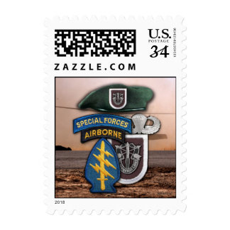 5th Special Forces Green Berets Postage Stamps
