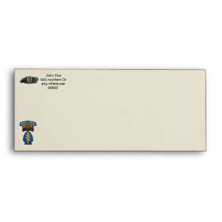 5th Special forces green berets rangers veterans Envelope