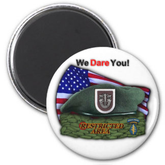 5th special forces green berets vets magnet