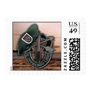 5th Special Forces Green Berets vets Postage Stamp