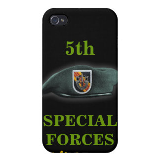 5th special forces green berets vietnam  case for iPhone 4