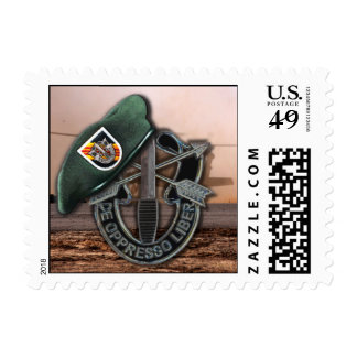 5th special forces green berets vietnam nam vets stamp