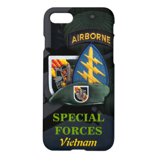 5th special forces green berets vietnam nam war iPhone 7 case