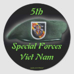 5th Special forces Green Berets vietnam Sticker