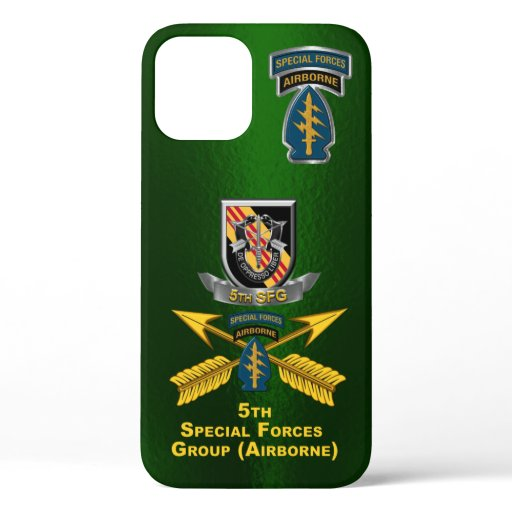 5th Special Forces Group Airborne Customized iPhone 12 Case