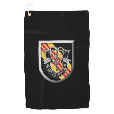 5th Special Forces Group (Airborne) Insignia Golf Towel